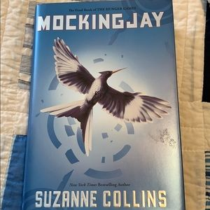 Mocking Jay book by Suzanne Collins -Hunger Games